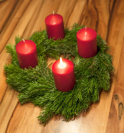 deterministic: advent wreath