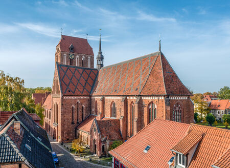 Guestrow Cathedral in the eastern part of Germany