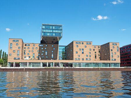 property berlin: modern Media Spree building in Berlin