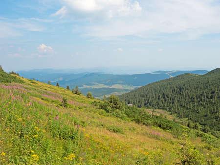 tatras: Landscape in the Lower Tatras Stock Photo