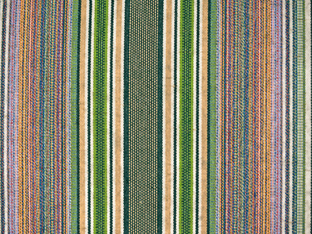 trot: striped fabric of cotton material full frame