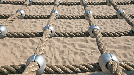 networked: networked Ropes on climbing frame cut out