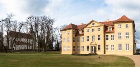 mirow: Mirow Castle Island in north eastern Germany