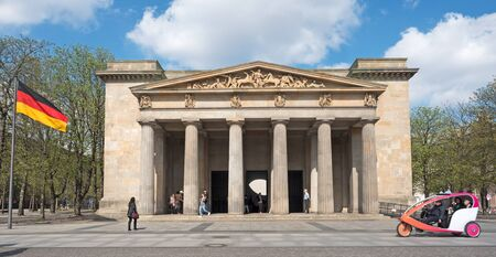historical building in the center of Berlin Germany