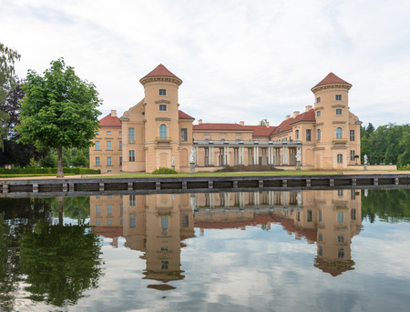 Rheinsberg Palace in Germany from the water Editorial