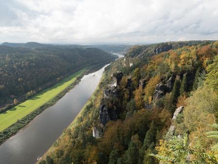 Mountains of Saxon Switzerland