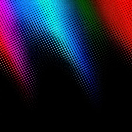 disco abstraction, design effect Stock Photo