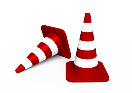 two traffic cones Stock Photo - 5763174