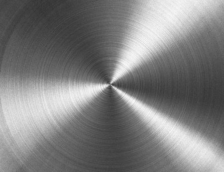 circular metallic texture Stock Photo