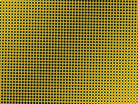 Yellow circle background photo