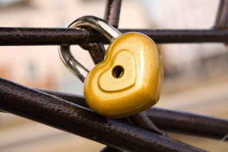 Locked heart Stock Photo - 7717482