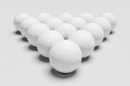 White billiards