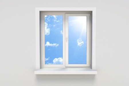 windows: Sky in the window