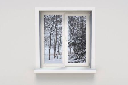 winter window: Winter in the window