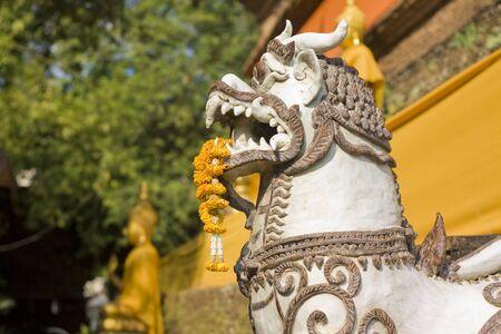 Guard statue thailand Stock Photo - 11741183