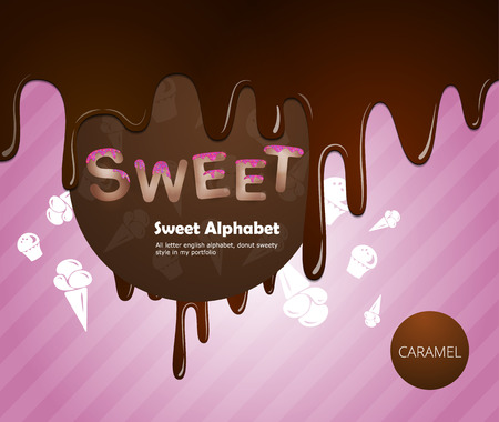 cream pie: Sweet alphabet