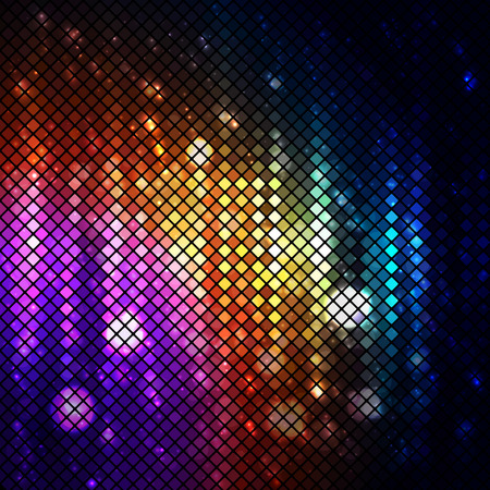 lighten: Colorful disco lighten background.