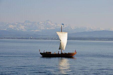 Viking Sailing Ship