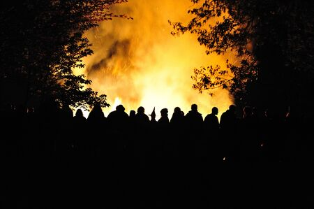May Night:  Witchs Bond Fire