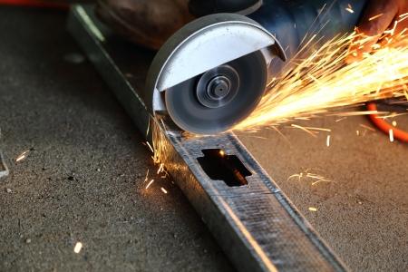 cutting metal photo