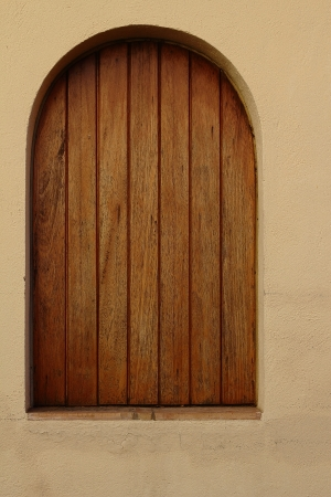 wood window photo