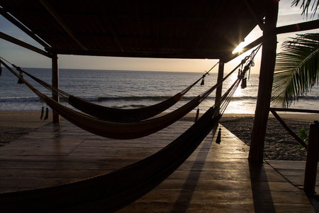 hammock sunshine beach Banque d'images