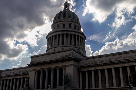capitolio: Capitolio in La Havana, Cuba