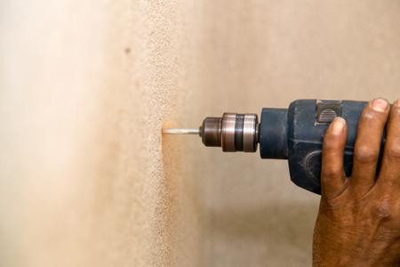 drill wall photo