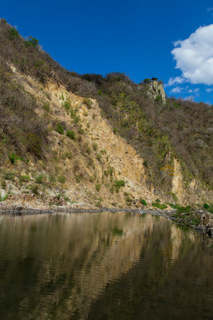river in Somoto Canyon, Nicaragua photo