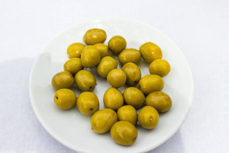 aperitive: olives aperitive Stock Photo