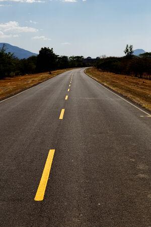 nicaraguan: Nicaraguan road view Stock Photo