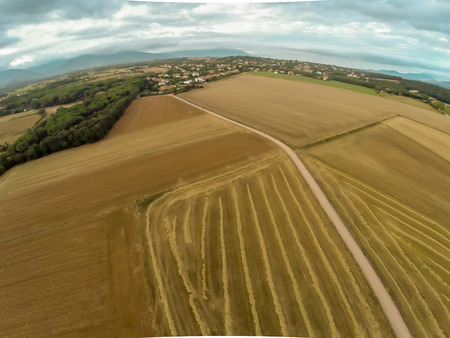 rural aerial view photo