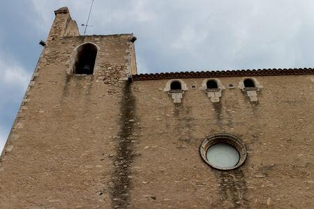 catalunya: Begur church outdoors, Catalunya