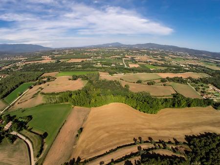aerial rural view photo