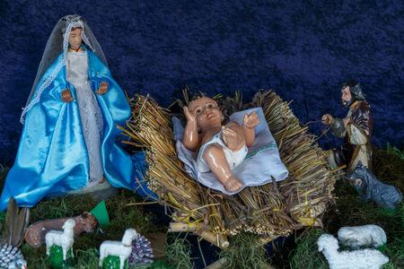 creche: Creche Christmas closeup