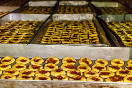 typical: typical handmade rosquillas from Somoto, Nicaragua Stock Photo