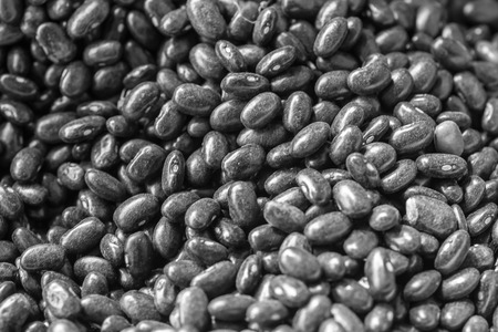 bn: black beans group as a background, BN
