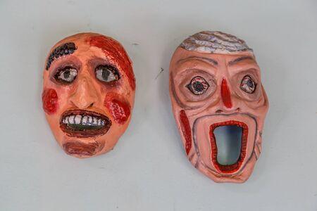 nicaraguan: handmade typical nicaraguan mask