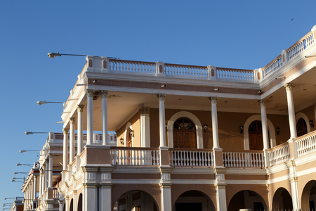 colonial house: colonial house view from Granada, Nicaragua, Central America.
