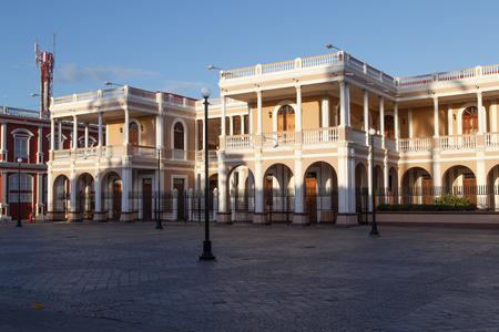 casa colonial: Vista casa colonial de Granada, Nicaragua, Centroam�rica.