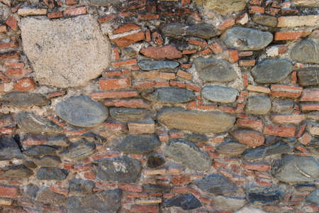 overbuilding: pattern stone wall texture