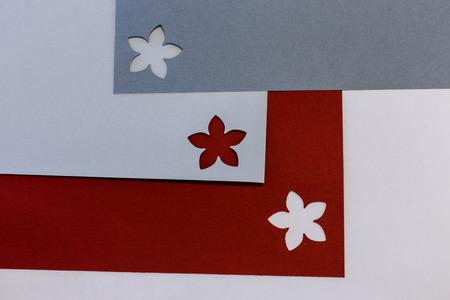 patchwork: flower on paper patchwork