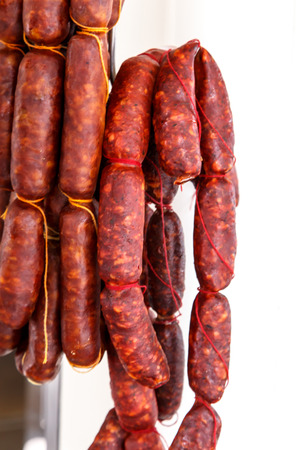 typical spanish sausage named Chorizo