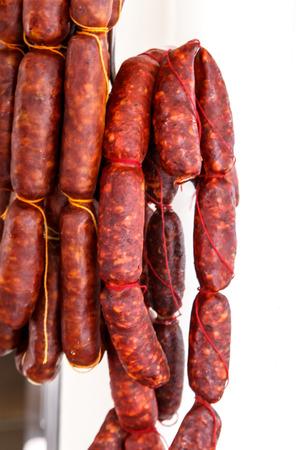 typical spanish sausage named Chorizo