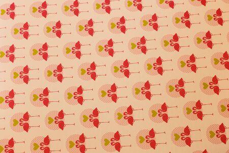 pink floral: Pink seamless floral pattern photo shot