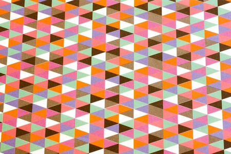 wall paper texture: colorful grunge background with triangles and different shapes Stock Photo