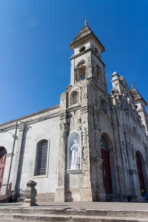 granada: guadalupe church outdoors from Granada, Nicaragua