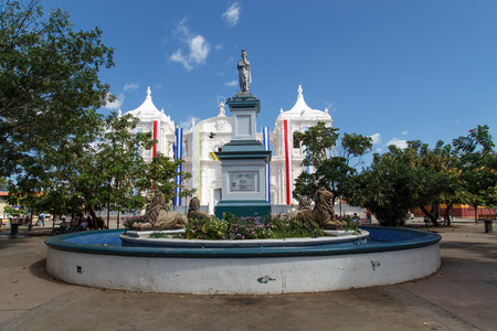 maximo: Cathedral Outdoors view from Leon, Nicaragua