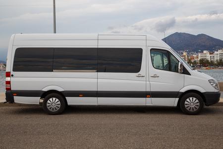 white work: white work van outdoors