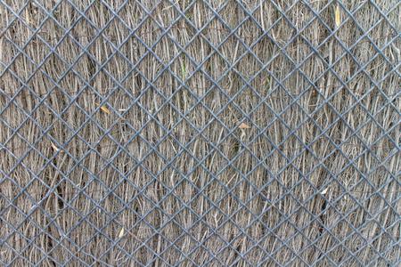railing: Railing detail from garden